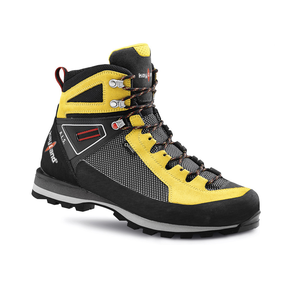 cross mountain gtx yellow backpacking boot
