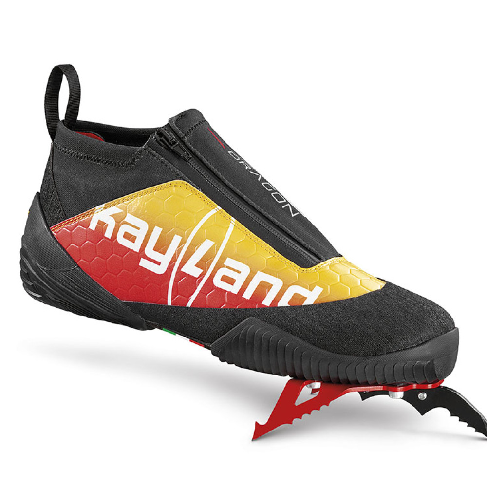 dry dragon red yellow - scarpa da dry tooling