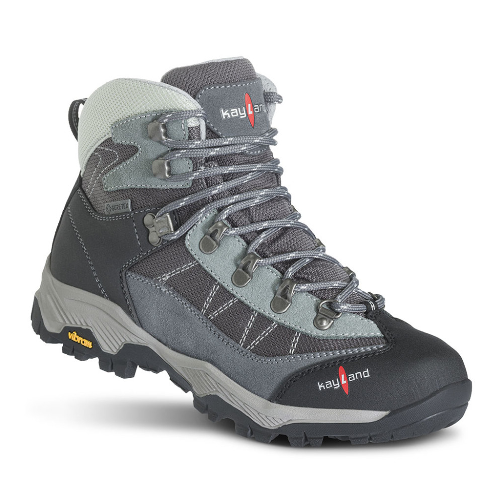 taiga ws gtx light grey hiking boots for women