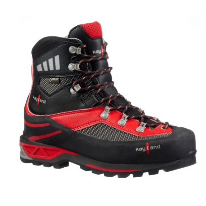 apex gtx black red - scarpone da alpinismo tecnico