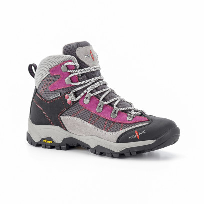 taiga ws gtx grey violet - women's mountain boots