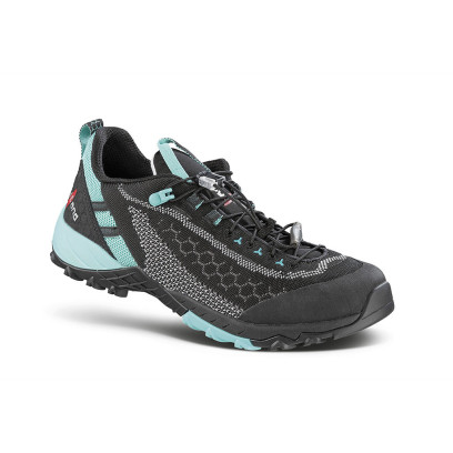alpha knit ws black - women's fast hiking shoe
