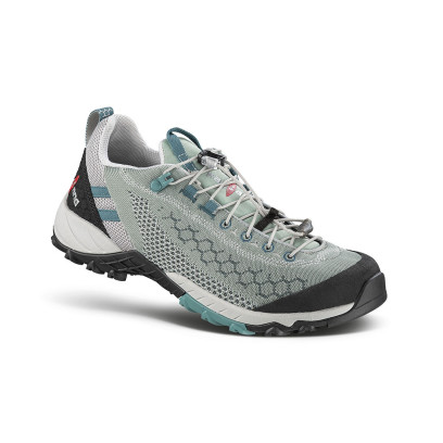 alpha knit ws green - women's fast hiking shoe