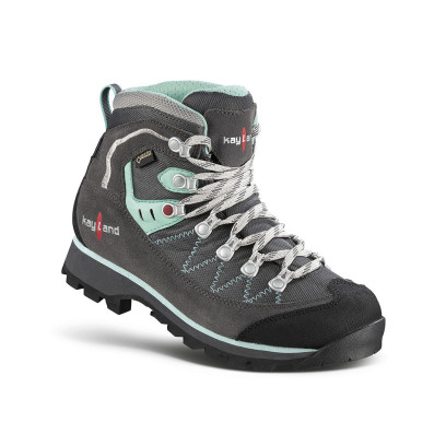 plume micro ws gtx grey-green hiking boots for women