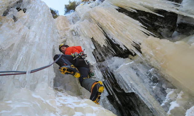 ICE CLIMBING AND KAYLAND | A binomial success
