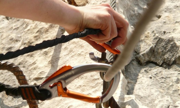 TOOLS FOR VIA FERRATA | Safety at first place