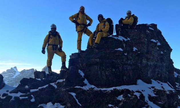 4001 GTX TEST ON ILLIMANI | With OutdoorTest, to the conquer of the West ridge