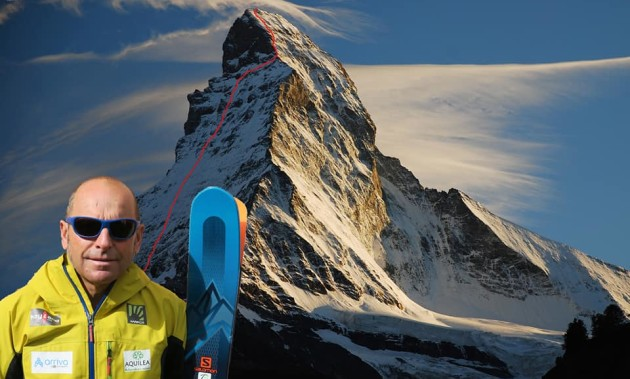 SWISS 4000 STEEP SKI | A great finish for Edmond Joyeusaz and his team