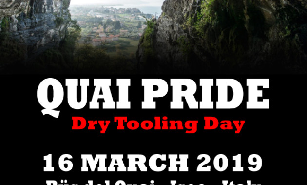 Total dry climbing event on Bus del Quai crag  | Meet at Iseo, Saturday, March 16th