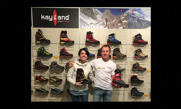 DENIS URUBKO VISITS KAYLAND | A new pair of boots for him and Maria