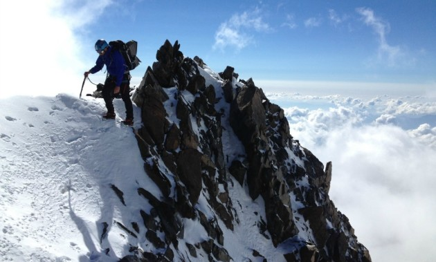 Innominata Ridge: climb to the summit of Mont Blanc