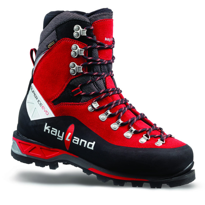 super ice evo gtx black red - high altitude mountaineering boot