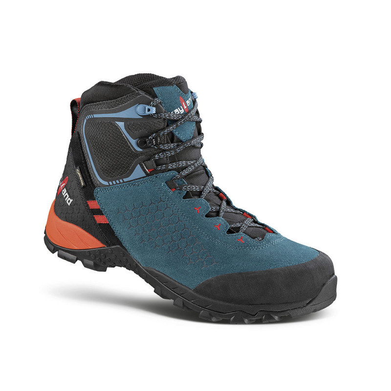 inphinity gtx teal blue - scarponcino da trekking veloce a quote medie