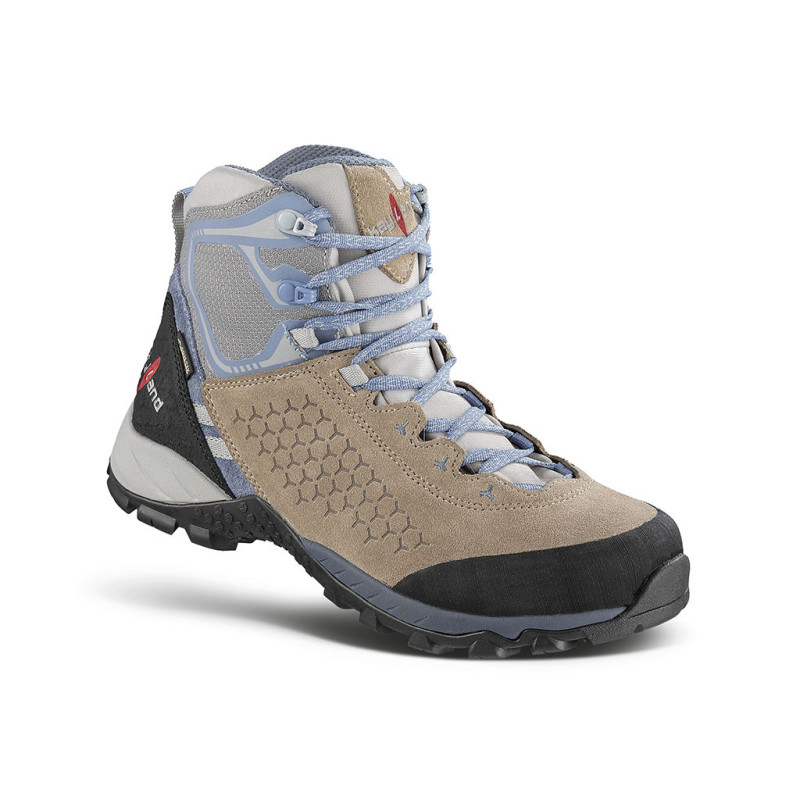 inphinity ws gtx sand - scarponcino da trekking veloce a quote medie donna