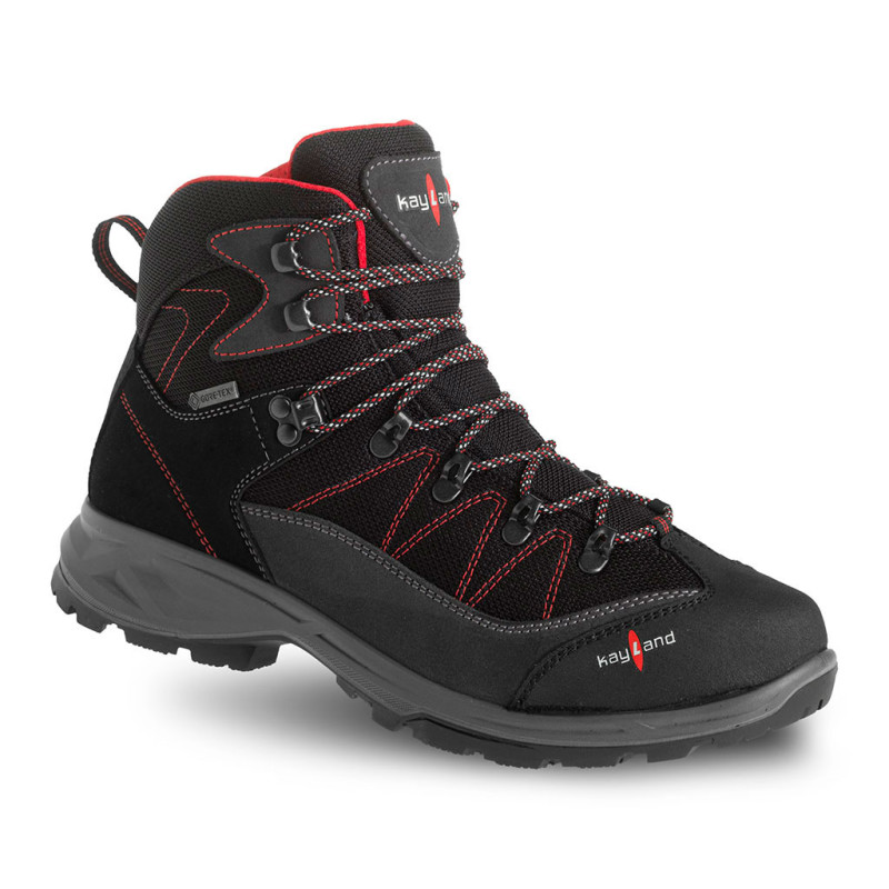 ascent evo gtx black/red