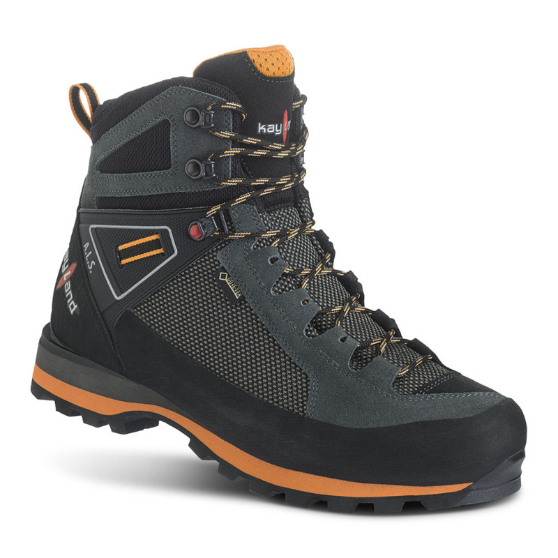 cross mountain gtx grey orange - scarpone da montagna uomo